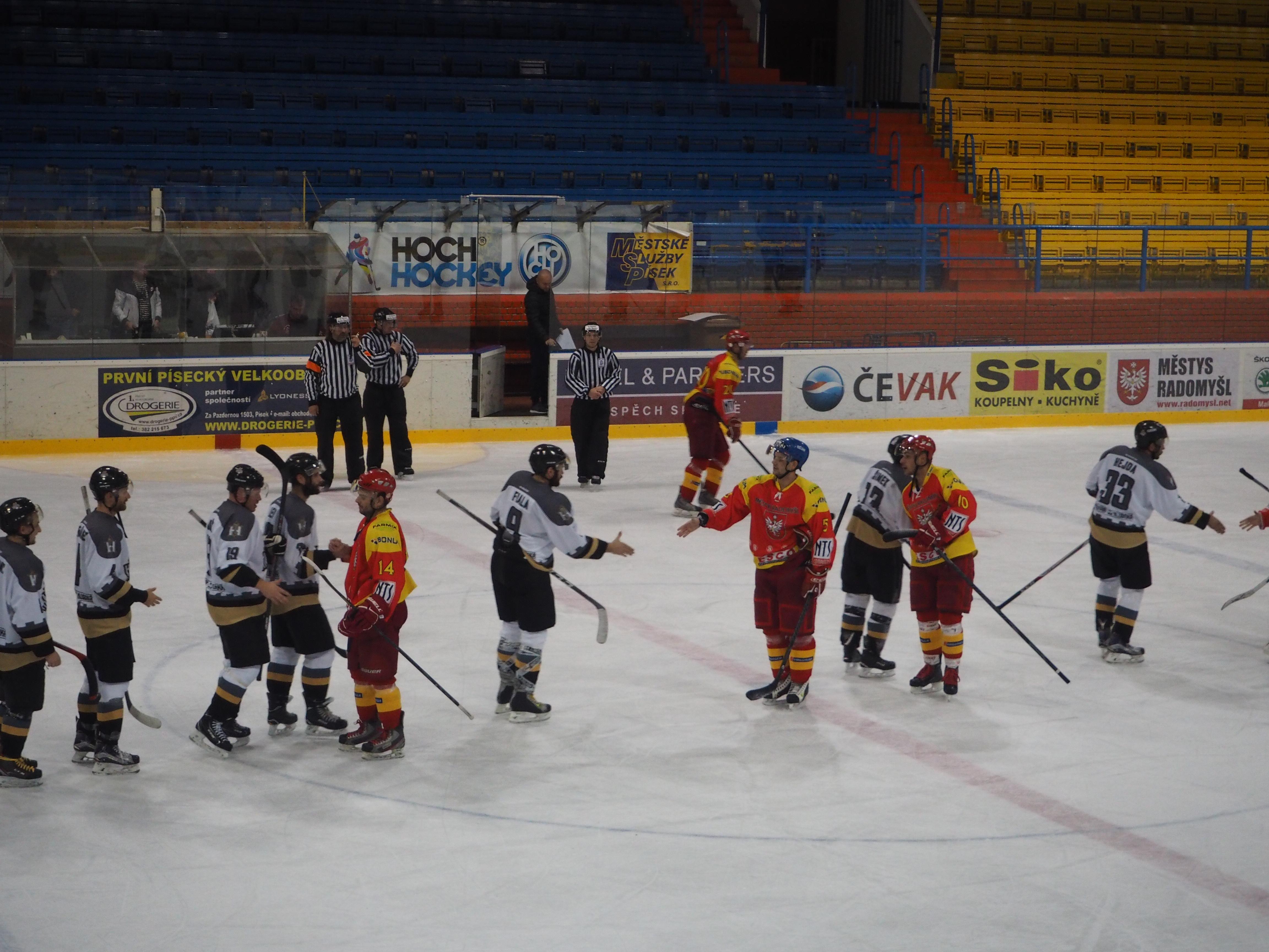 TJ Sokol Radomyšl vs. HC Knights 27. 10. 2018