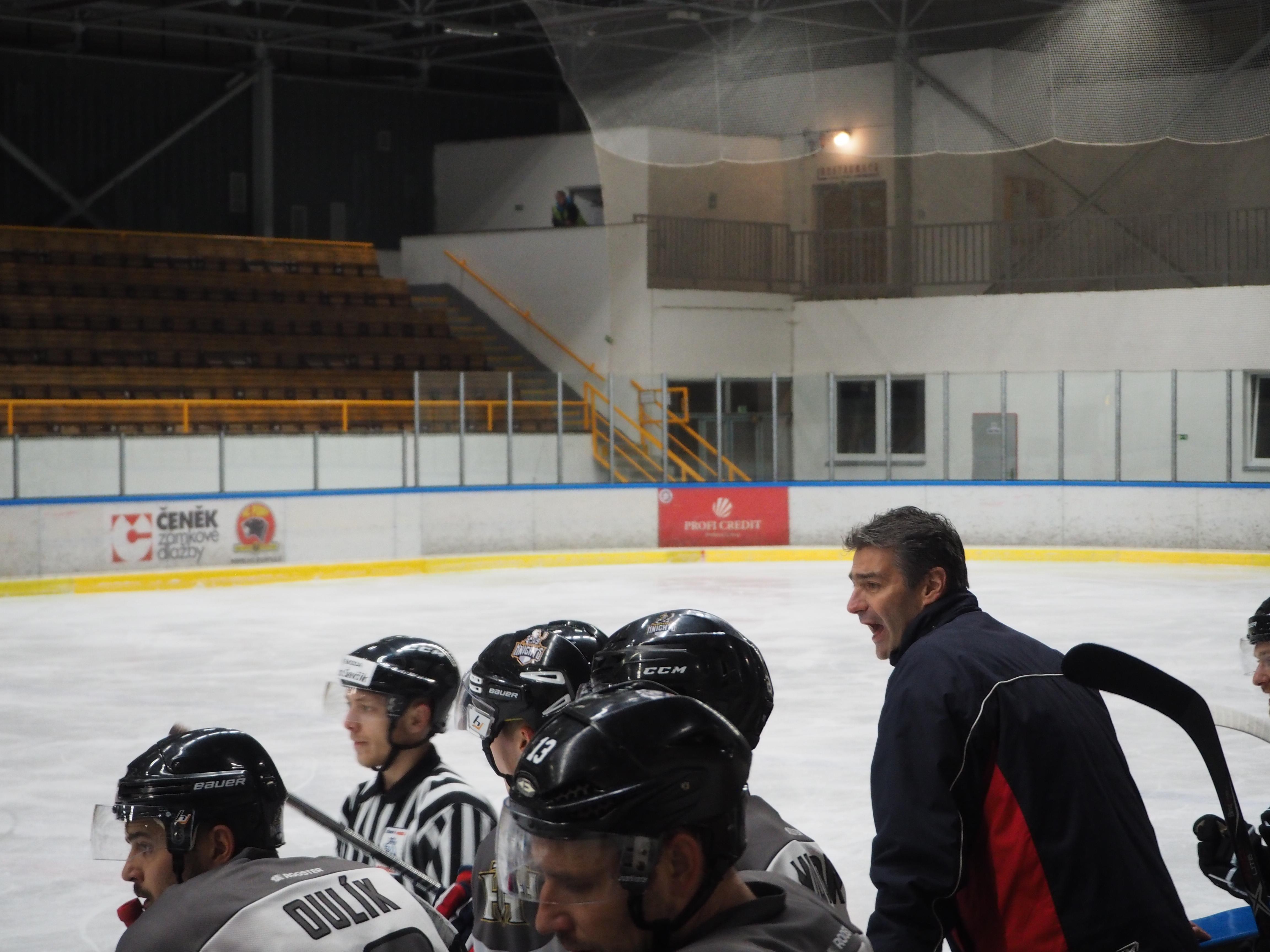 """HC Lední Medvědi Pelhřimov """"B"""" Vs. HC Knights 11. 11. 2018"""