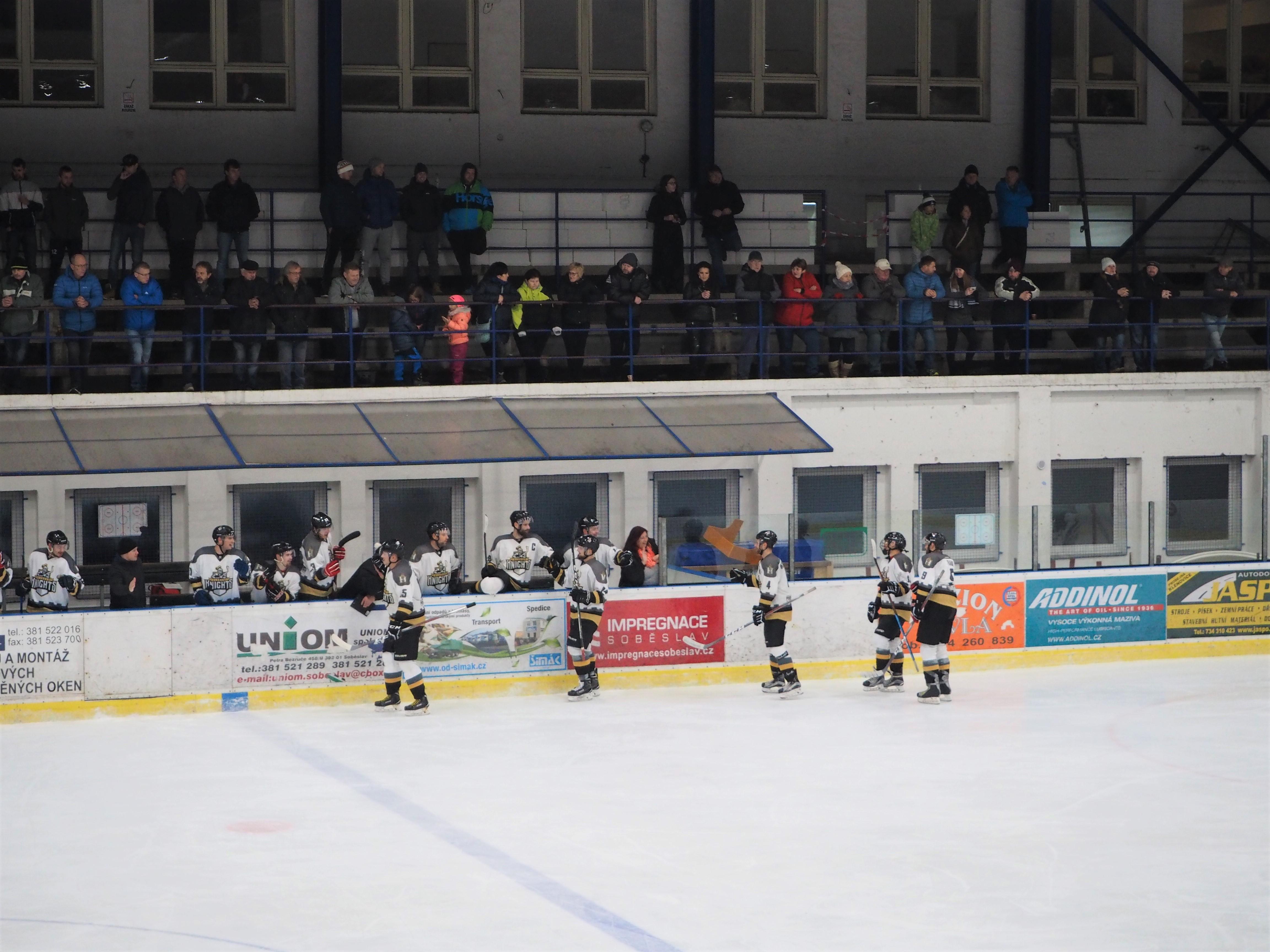 OLH Spartak Soběslav vs. HC Knights 25. 11. 2018