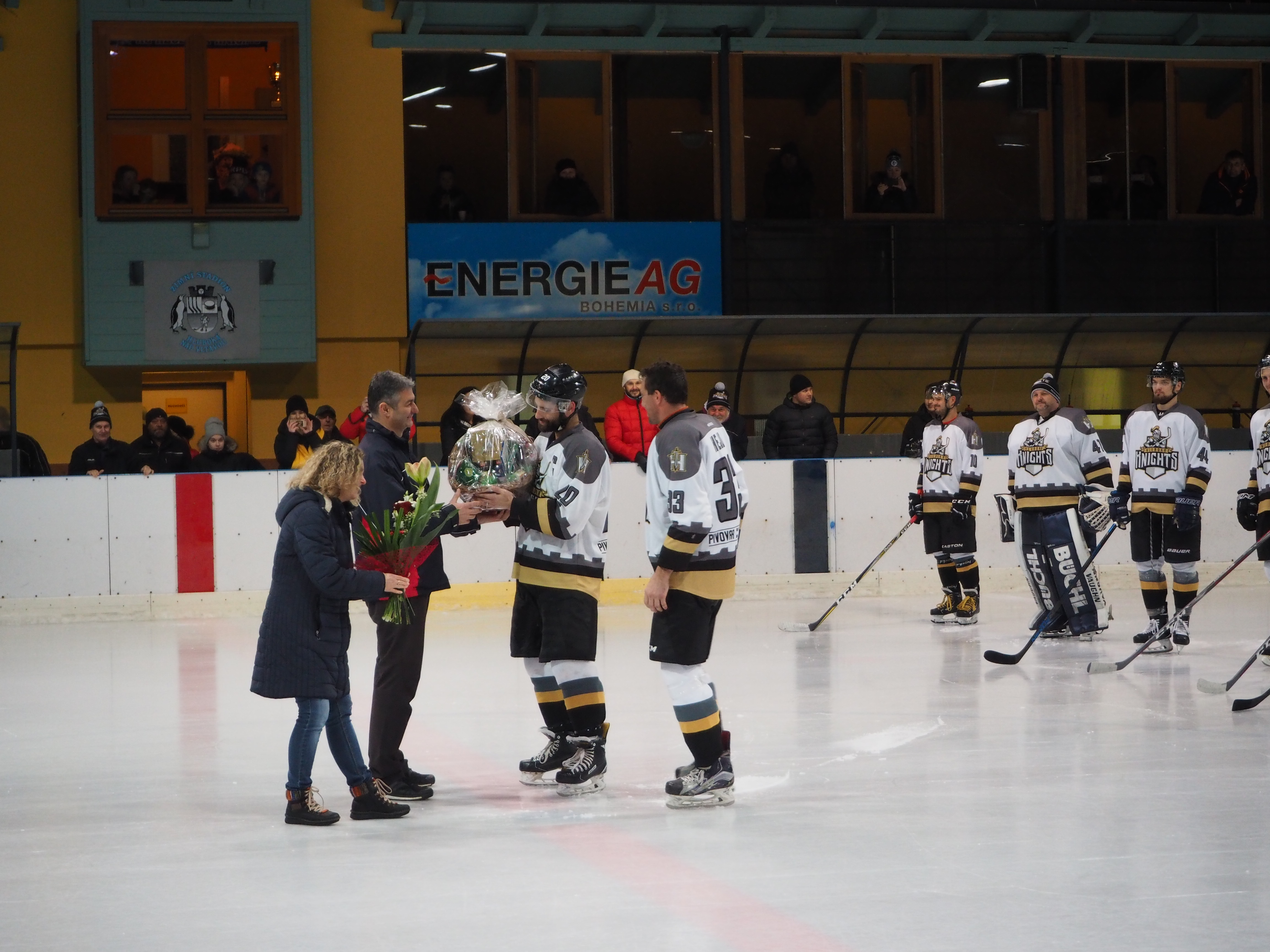 HC Knights vs. HC Vimperk 9. 12. 2018
