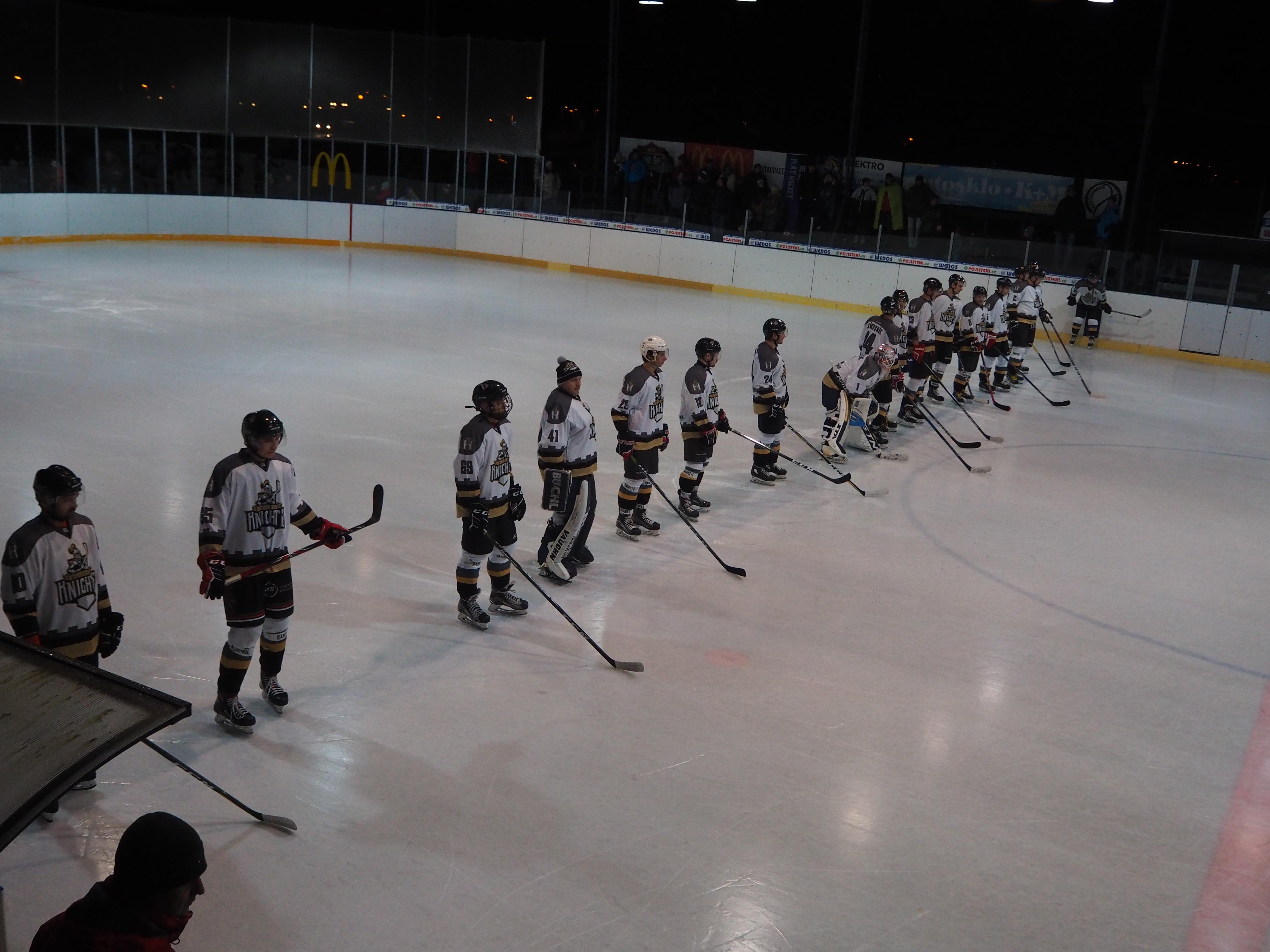 HC Knights vs. HC Vajgar Jindřichův Hradec – 5. 1. 2020