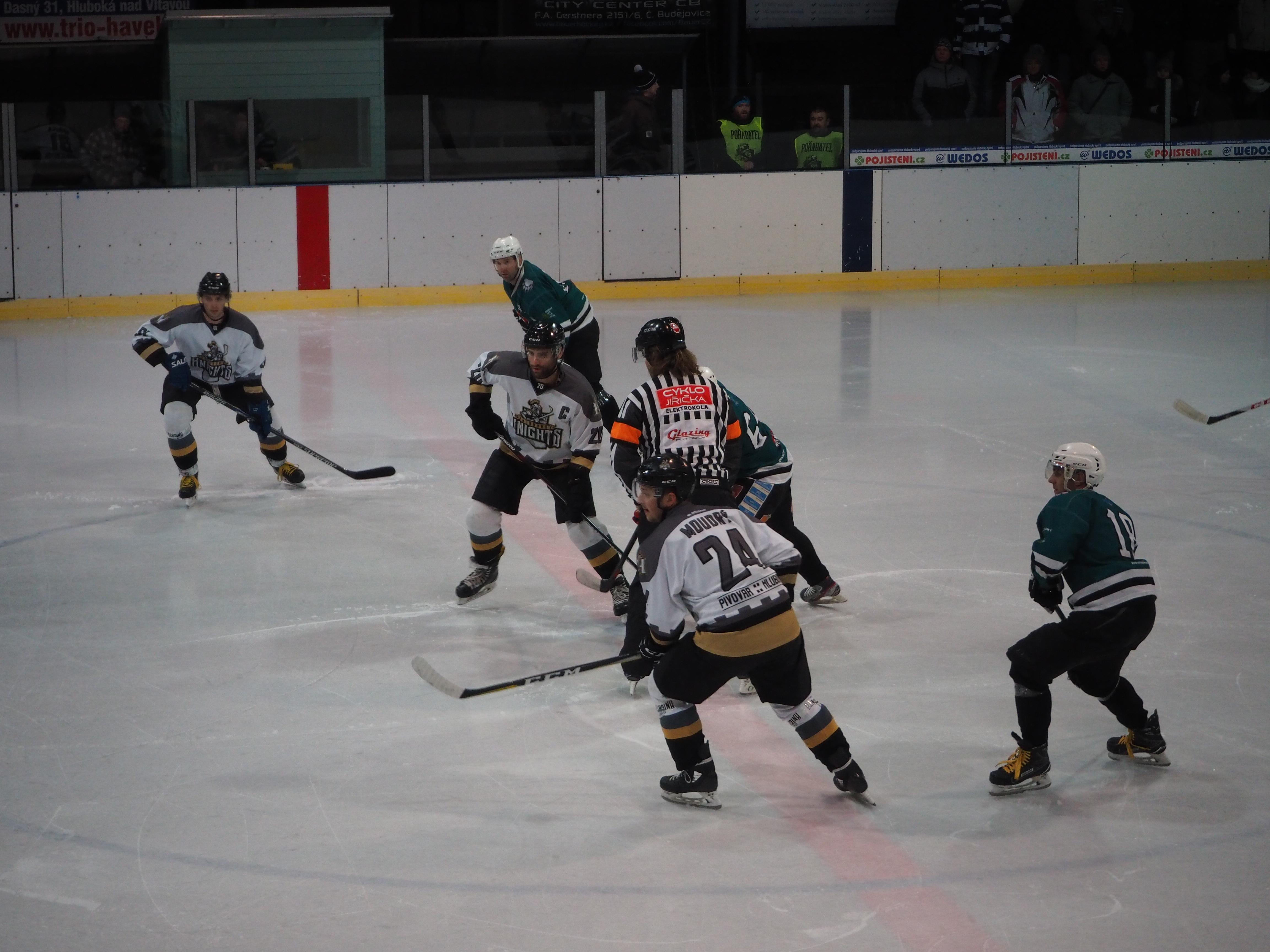 HC Knights vs. HC Slavoj Český Krumlov 20. 1. 2019