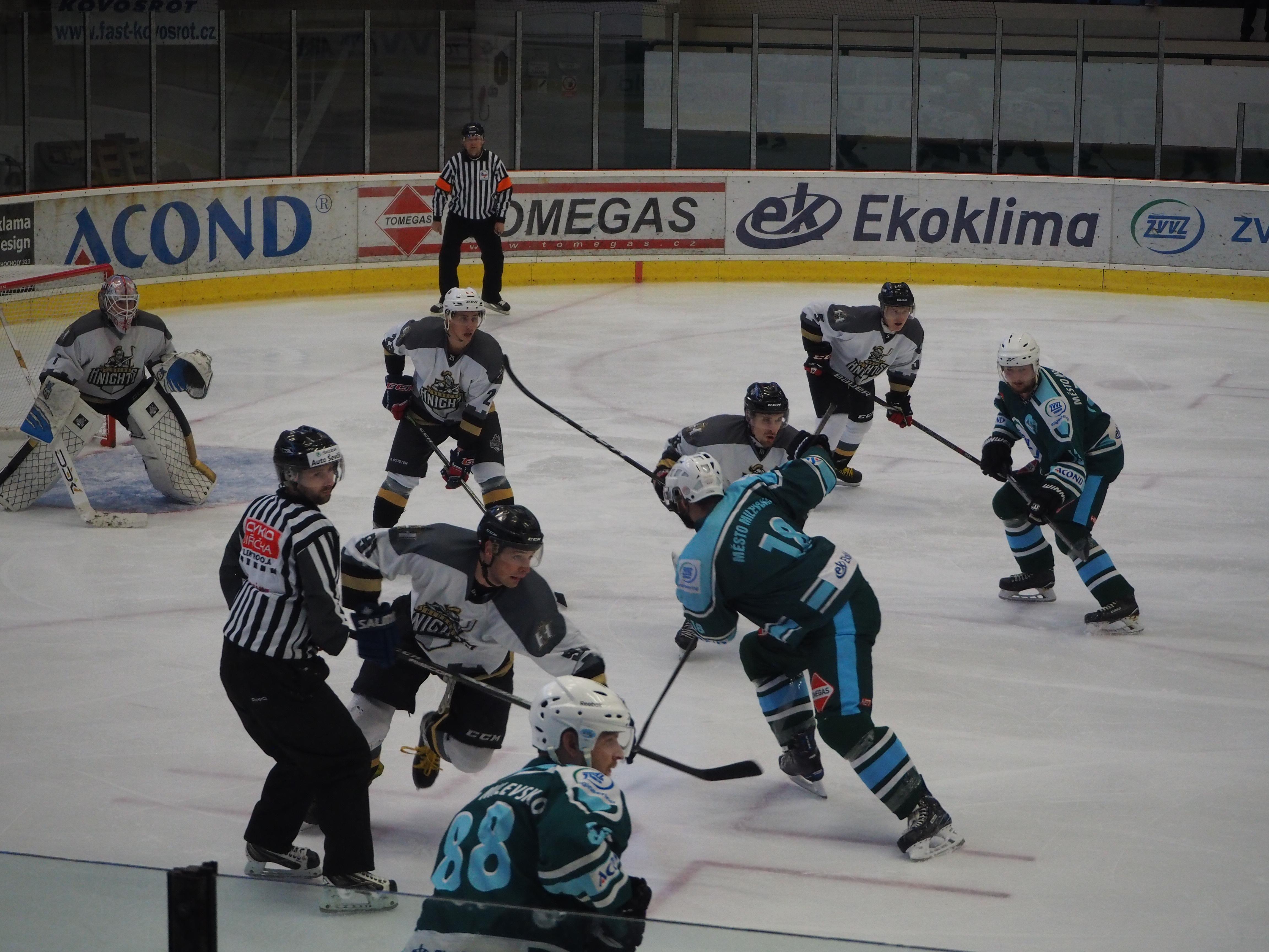 HC Milevsko 2010 vs. HC Knights – play – off – 3. 3. 2019