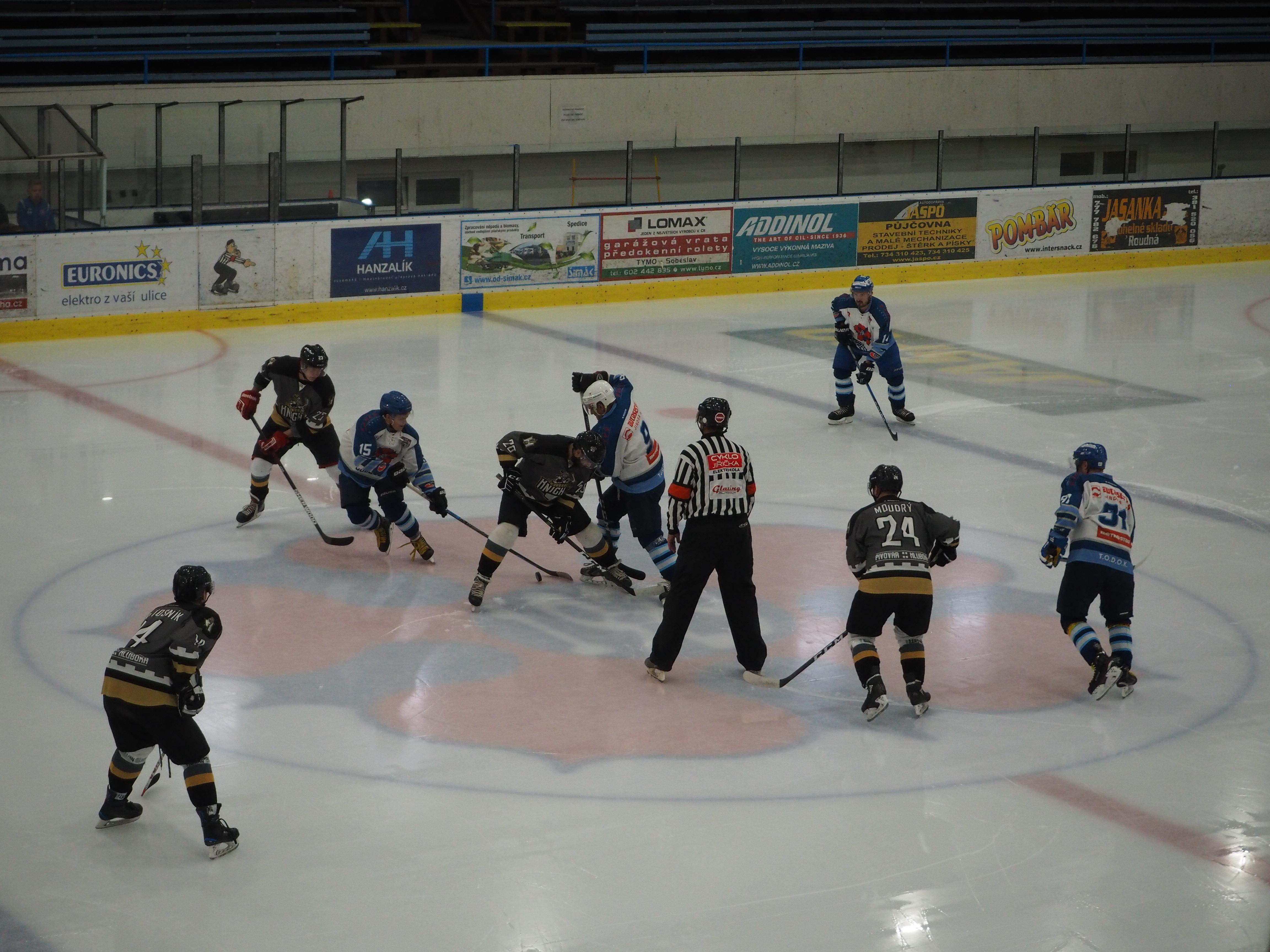 Přátelské utkání – OLH Spartak Soběslav vs. HC Knights 1. 9. 2019