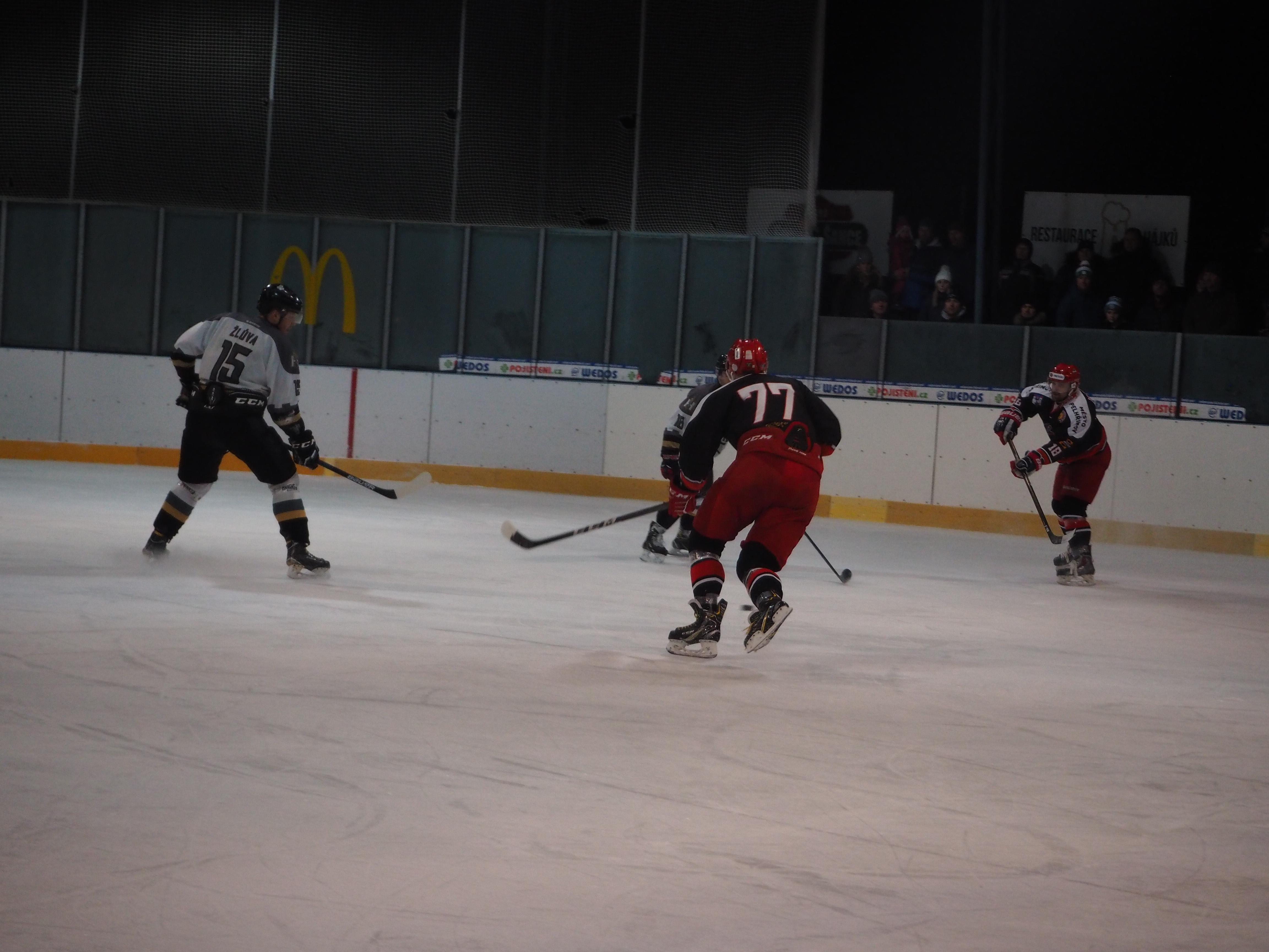 HC Knights vs. HC Lední Medvědi Pelhřimov – 12. 1. 2020