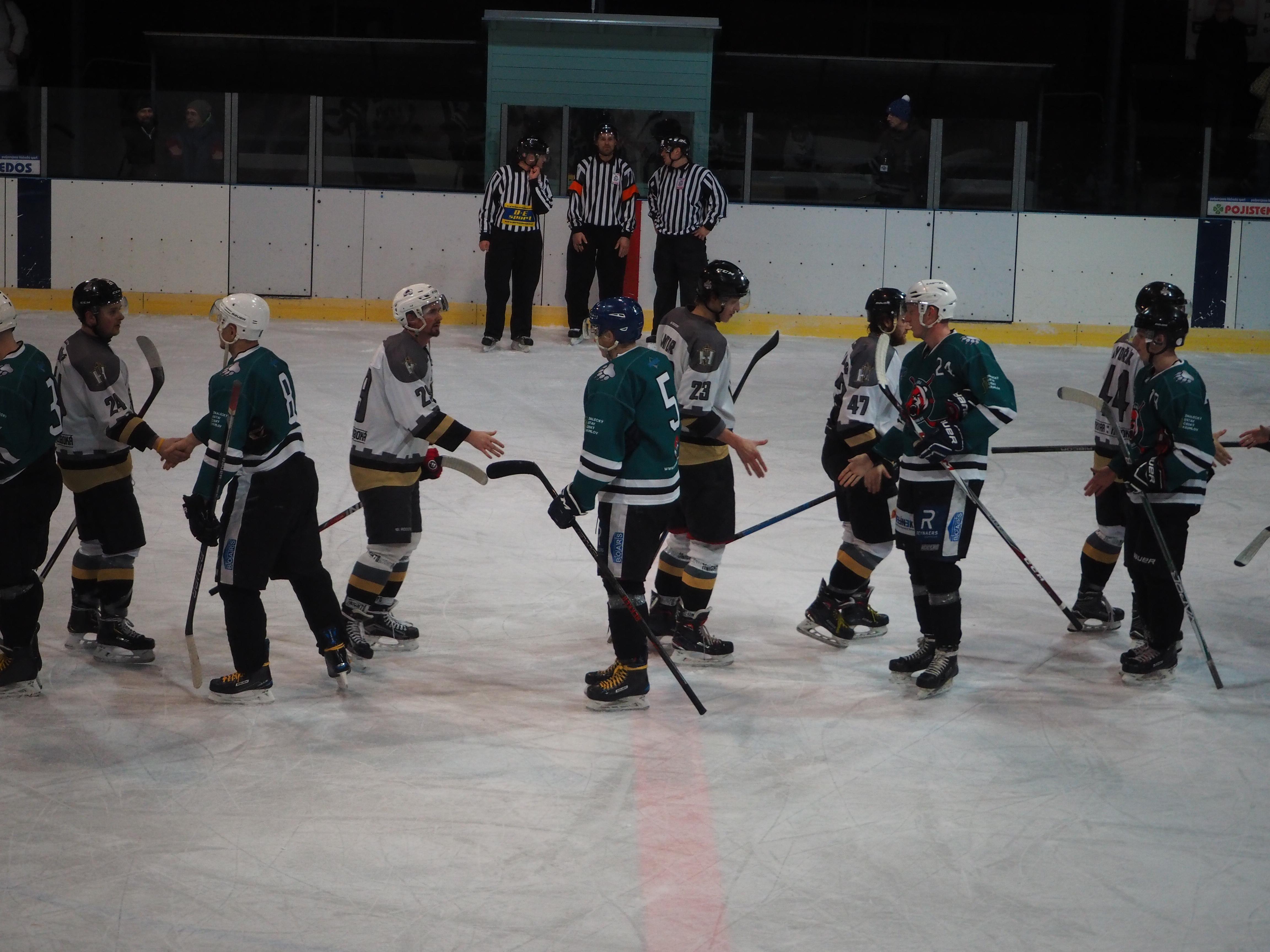HC Knights vs. HC Slavoj Český Krumlov – 19. 1. 2020